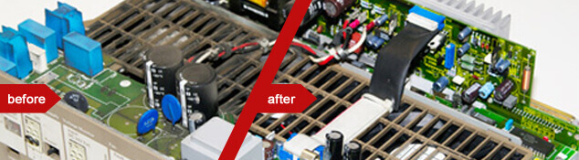 Repair services for electronics