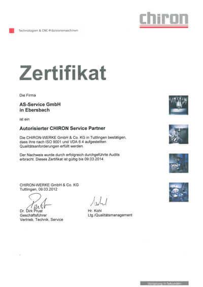 ZertifikatChiron