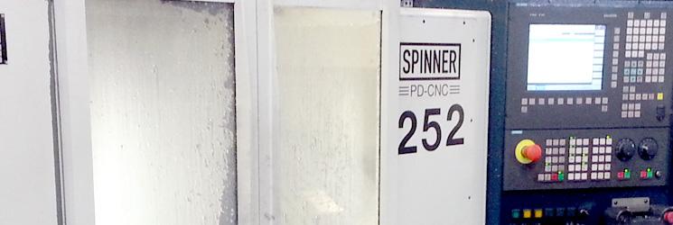 Service SPINNER machines